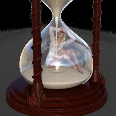 kobieta czas